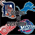 DETROIT VS EVERYBODY IRON ON STICKER