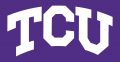 TCU Horned Frogs 1995-Pres Wordmark Logo decal sticker