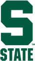 Michigan State Spartans 1983-Pres Alternate Logo iron on sticker
