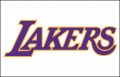 Los Angeles Lakers 2001-2002 Pres Jersey Logo iron on sticker