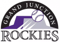 Grand Junction Rockies 2012-Pres Primary Logo decal sticker