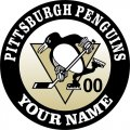 Pittsburgh Penguins Customized Logo decal sticker