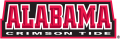 Alabama Crimson Tide 2001-Pres Wordmark Logo 02 iron on sticker