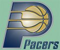 Indiana Pacers Plastic Effect Logo iron on sticker