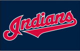 Cleveland Indians 2012-Pres Jersey Logo 01 iron on sticker
