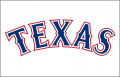 Texas Rangers 2014-2019 Jersey Logo iron on sticker