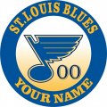 St. Louis Blues Customized Customized Logo decal sticker