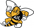 AIC Yellow Jackets 2009-Pres Secondary Logo iron on sticker