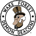 Wake Forest Demon Deacons 1968-1992 Primary Logo iron on sticker