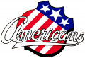 Rochester Americans 1972 73-1977 78 Primary Logo iron on sticker