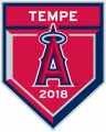Los Angeles Angels 2018 Event Logo decal sticker
