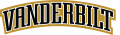 Vanderbilt Commodores 1999-2007 Wordmark Logo decal sticker