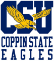 Coppin State Eagles 2017-Pres Secondary Logo iron on sticker