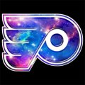 Galaxy Philadelphia Flyers Logo iron on sticker