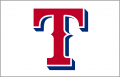 Texas Rangers 2004-2008 Jersey Logo iron on sticker