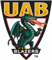 UAB Blazers 1996-2014 Alternate Logo 01 decal sticker