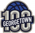 Georgetown Hoyas 2007 Anniversary Logo iron on sticker