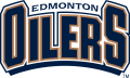 Edmonton Oiler 1996 97-2010 11 Wordmark Logo decal sticker