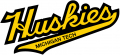 Michigan Tech Huskies 1993-Pres Wordmark Logo iron on sticker