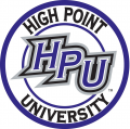 High Point Panthers 2004-Pres Alternate Logo 01 decal sticker