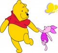 Disney Pooh Logo 20 decal sticker