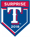 Texas Rangers 2018 Event Logo iron on sticker