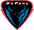DePaul Blue Demons 1999-Pres Alternate Logo 01 iron on sticker