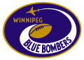 Winnipeg Blue Bombers 1966-1967 Primary Logo iron on sticker