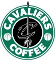 Cleveland Cavaliers Starbucks Coffee Logo decal sticker