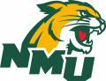 Northern Michigan Wildcats 2016-Pres Secondary Logo 02 iron on sticker