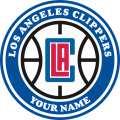 Los Angeles Clippers Customized Logo iron on sticker