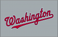 Washington Nationals 2009-Pres Jersey Logo decal sticker