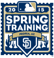 San Diego Padres 2015 Event Logo iron on sticker