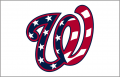 Washington Nationals 2017-Pres Jersey Logo decal sticker