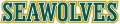 Alaska Anchorage Seawolves 2004-Pres Wordmark Logo 07 decal sticker