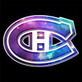 Galaxy Montreal Canadiens Logo iron on sticker