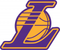 Los Angeles Lakers 2001-2002 Pres Alternate Logo iron on sticker