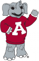 Alabama Crimson Tide 2000 Mascot Logo iron on sticker