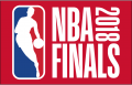 NBA Playoffs 2017-2018 Champion Logo decal sticker