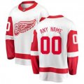 Detroit Red Wings Custom Letter and Number Kits for White Away Jersey