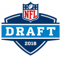 NFL Draft 2018 Logo iron on sticker