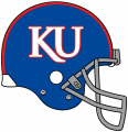 Kansas Jayhawks 2007-2009 Helmet iron on sticker