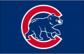 Chicago Cubs 1999-2002 Batting Practice Logo decal sticker