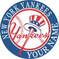 New York Yankees Customized Logo decal sticker