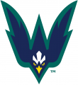 NC-Wilmington Seahawks 2015-Pres Secondary Logo 02 iron on sticker