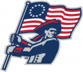 Robert Morris Colonials 2006-Pres Partial Logo iron on sticker
