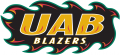 UAB Blazers 1996-2014 Wordmark Logo 01 decal sticker