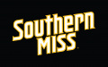 Southern Miss Golden Eagles 2003-Pres Wordmark Logo 02 decal sticker