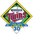 Minnesota Twins 2101 Logo iron on sticker