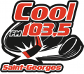 Saint-Georges Cool-FM 103.5 2013 14-Pres Primary Logo decal sticker